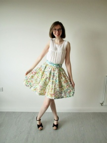 Summer Zeena Skirt & Blouse Combo