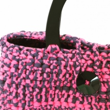 T-shirt Yarn Crochet Handbag
