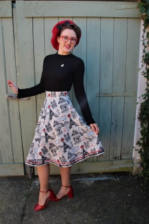 The 'Paris Is Always A Good Idea' Skirt