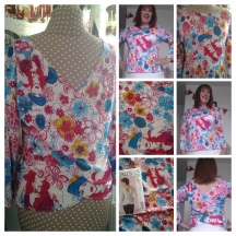 The Lady Floral Jersey Top
