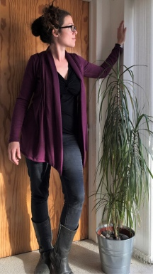 The Plum Pudding Cardigan