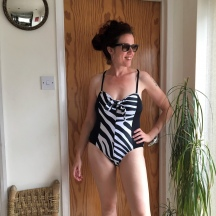 The Sewing Bee Zebra Swimsuit