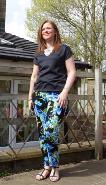 The Ultimate Flowery Trousers