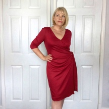 The Va Va Voom Wrap Dress – McCalls M6884