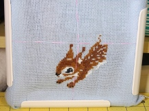 Trying Cross Stitch