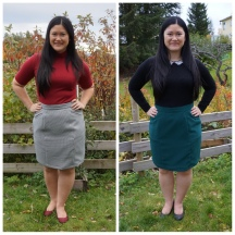 Two Selene Skirts For The Fall