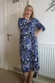 Vogue 8825 in Lady McElroy Bolton Fabric