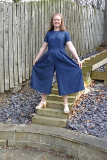 Vogue Chambray Jumpsuit