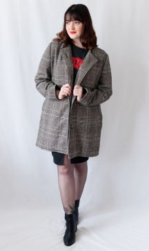 Vogue V9123 Tweed Coat