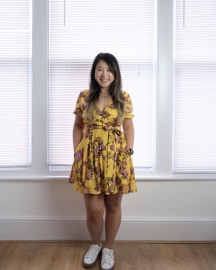 Yellow Floral Simplicity 8137