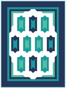 Deco Ritz Quilt - Camelot Fresh Solids