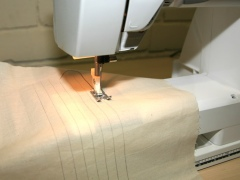 How to Stitch a Straight Line