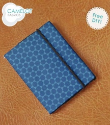 Paisley Please Passport Cover - Camelot Fabrics
