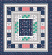 What a Gem Border Blast Quilt